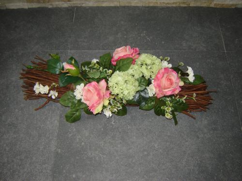 Takken roze rozen